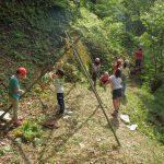 【参加者募集】11/5、11/23、12/3 里山での秘密基地づくり&竹細工&バームクーヘン作り